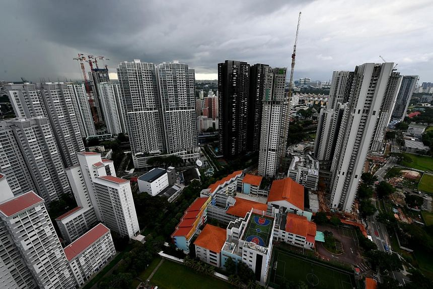 Overall rents for condo units last month fell by 0.3 per cent from November, breaking a five-month streak. But the HDB rental market remained strong as rent increased by 0.4 per cent last month from the month before.