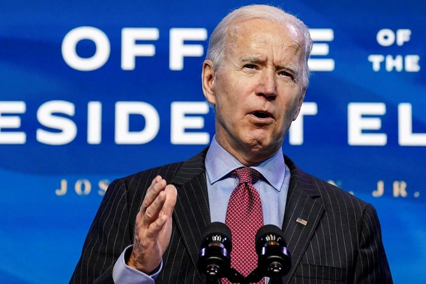 Mr Biden's stimulus is likely to build on the two massive relief packages Congress approved in 2020.