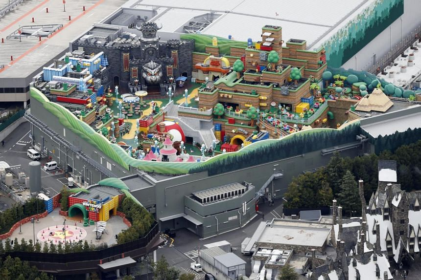 Super Nintendo World was set to open in the spring of 2021, at the Universal Studios Japan in Osaka.