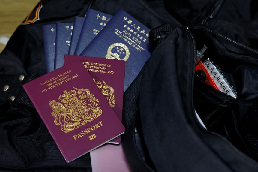 Britain last year created a pathway to citizenship for the more than one million Hong Kong residents who hold British National (Overseas) passports.