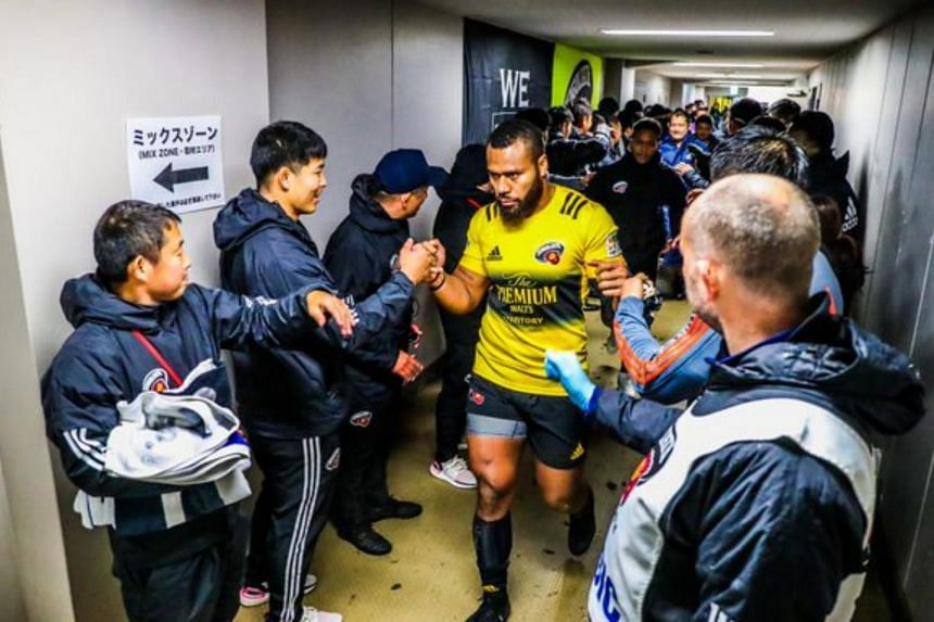 Japan's Top League rugby was put on hold after 67 Covid-19 cases were reported.