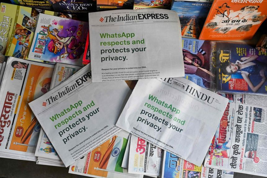 WhatsApp has begun a costly advertising campaign to calm customers in India.