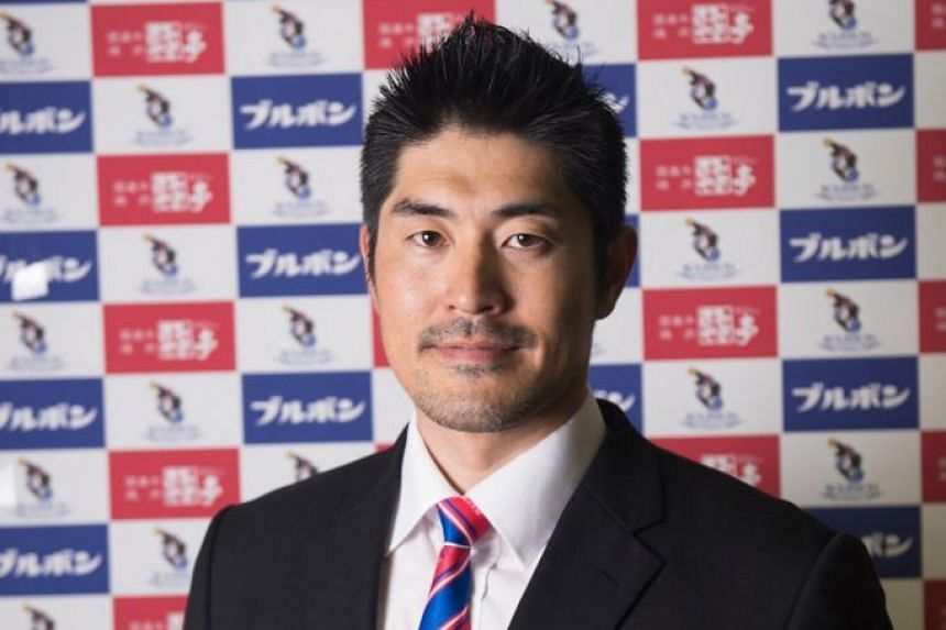 Kan Aoyogi (above) will take over from Dejan Milakovic in March 2021.