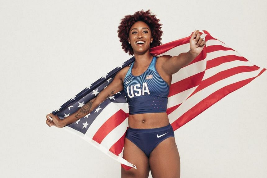 Brianna McNeal won gold at the 2016 Rio Olympics and was also world champion in 2013.