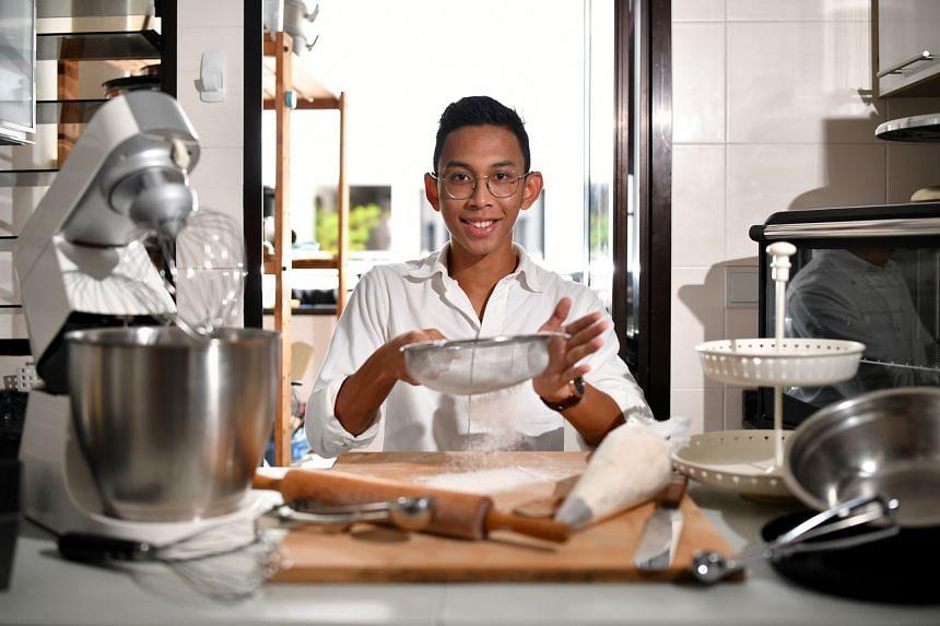 Mr Nur Irsyad Bin Abu Bakar, founder of online home-baking business, The Mixing Bowl.