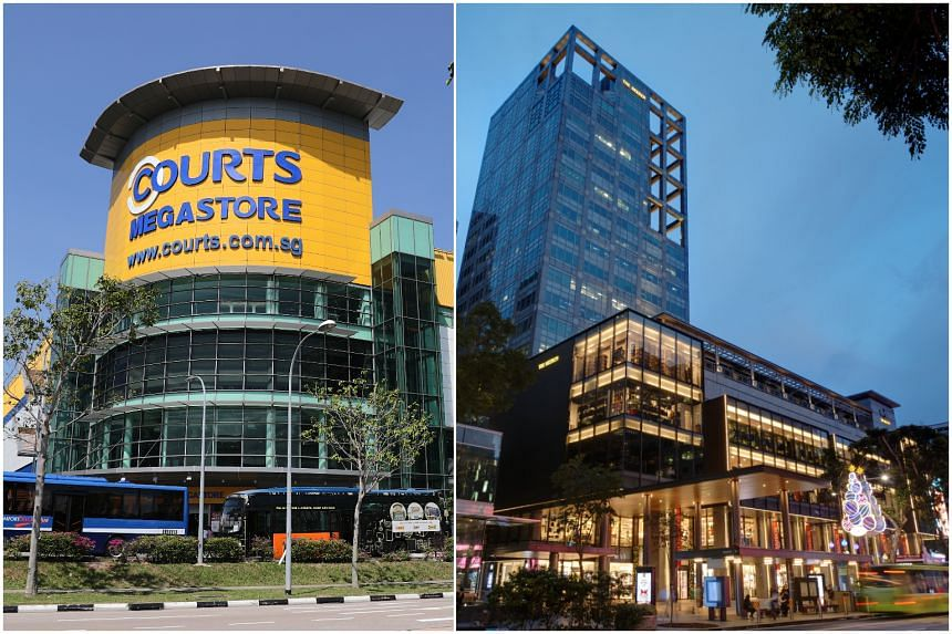 Courts will occupy all six storeys of The Heeren which was recently vacated by Robinsons.