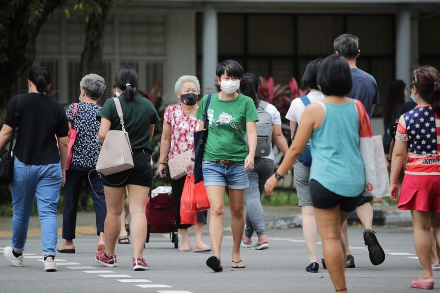 Singapore is keeping its population safe at the same time as keeping workers safe, said PM Lee.