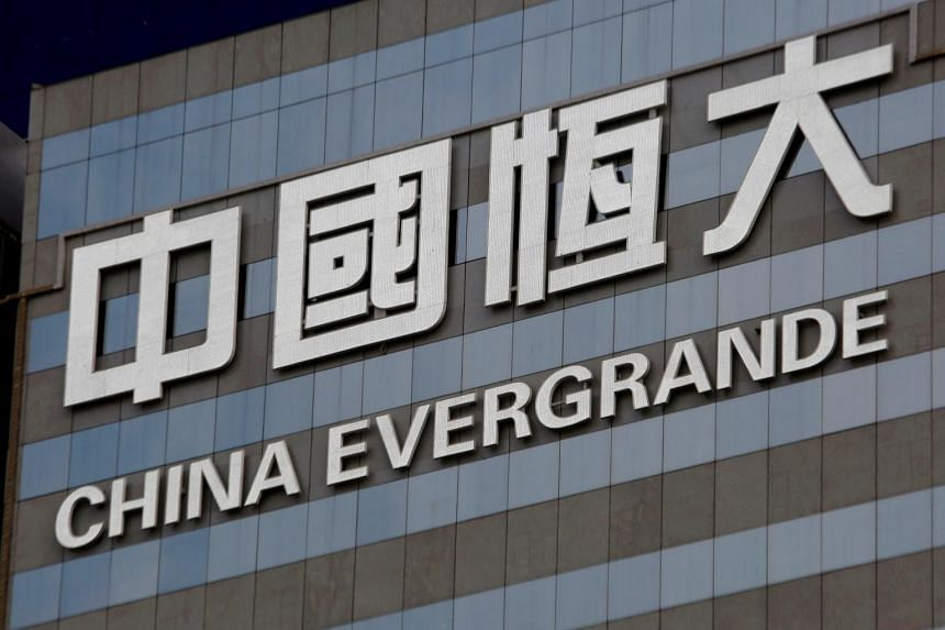 UBS cut its rating on Evergrande from neutral on Jan 12.