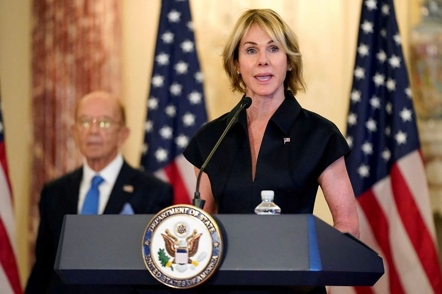 US Ambassador to the United Nations Kelly Craft had been set to land in Taiwan yesterday afternoon, but her trip was cancelled on Tuesday, in a sudden U-turn amid the chaotic final days of the Donald Trump administration.