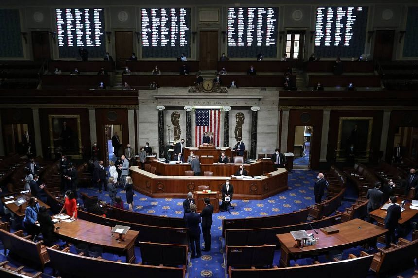The US House of Representatives voted to impeach President Donald Trump for the second time on Jan 14, 2021.