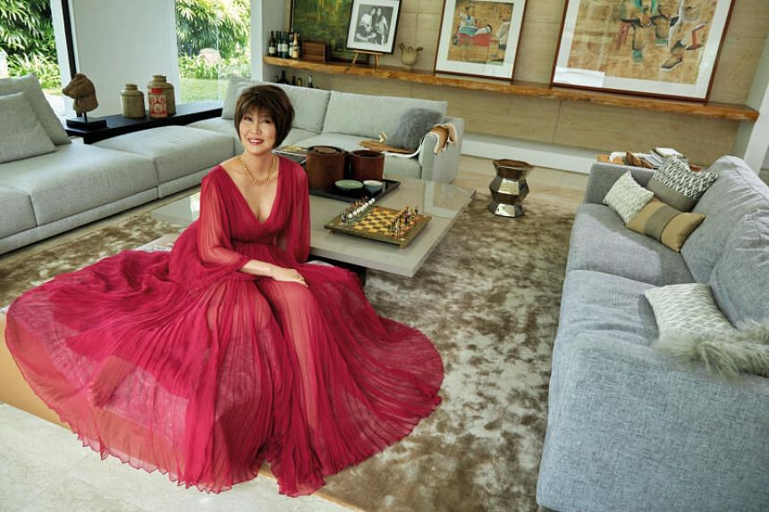 Dr June Goh-Rin's unpretentious mix of the practical and the emotional has resulted in a truly stylish home.