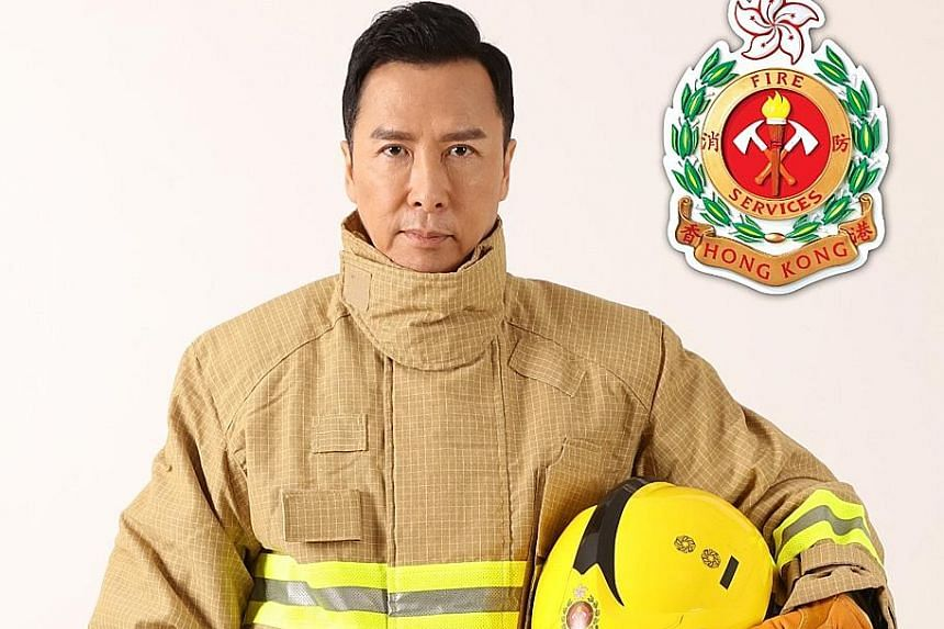 Donnie Yen (above).
