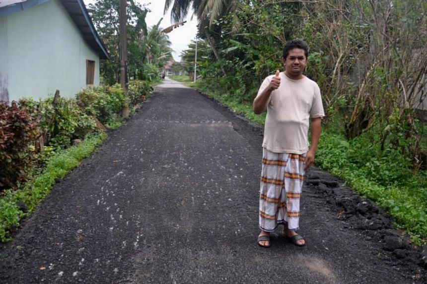 Nor Muhamad Roslam Harun, 40, admitted his mistakes of building so many speed bumps and creating an unnecessary hassle for other residents to get to the main road.