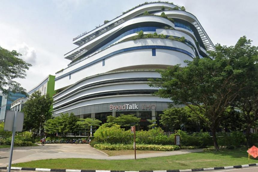 The BreadTalk IHQ Building in Tai Seng has a gross floor area of 248,902 sq ft.