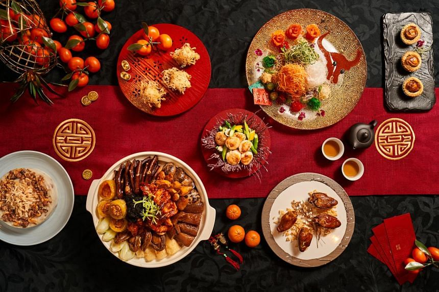 Shangri-La Singapore is expecting record sales of its Chinese New Year goodies.