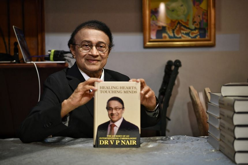 Dr V.P. Nair decided to raise funds for The Straits Times School Pocket Money Fund through sales of his debut autobiography.