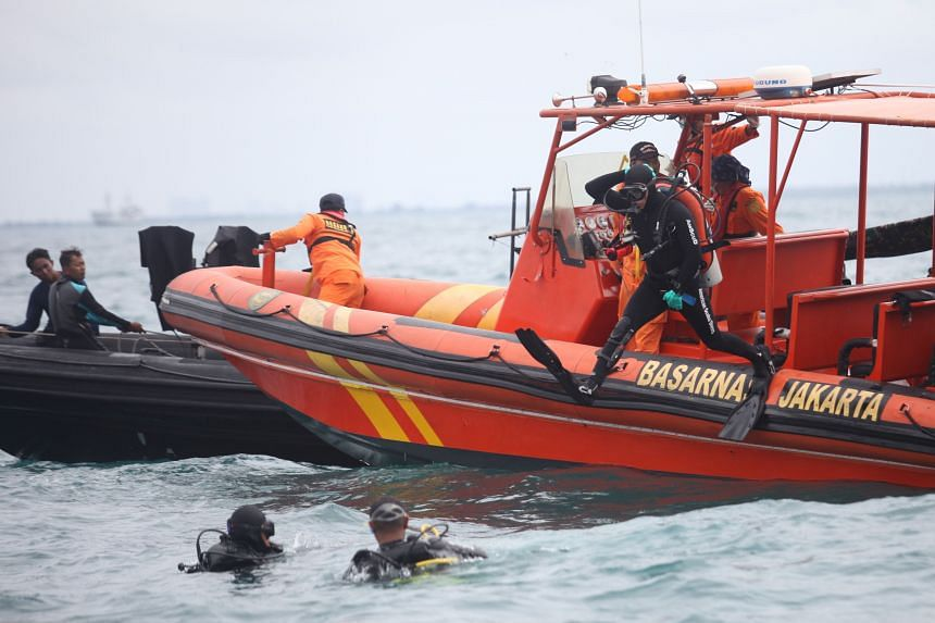 Indonesia's navy officer said he is confident divers would find the memory within the next few days.
