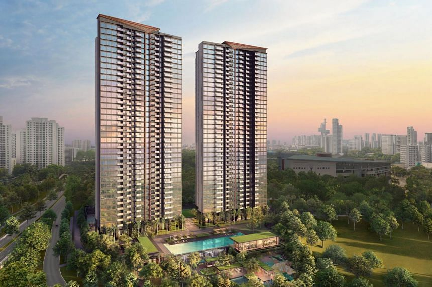 The jump in sales was driven by new launches such as Clavon in Clementi, which sold 473 units.