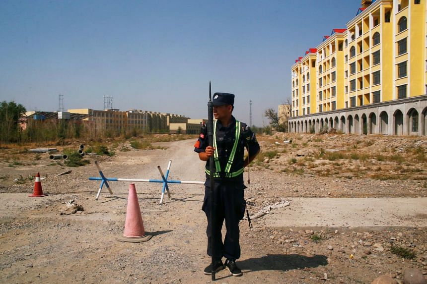 The United Nations says at least 1 million Uighurs and other Muslims have been detained in Xinjiang.