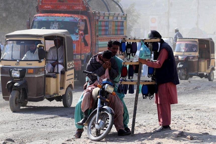 Pakistan is seeing rising numbers of coronavirus infections.