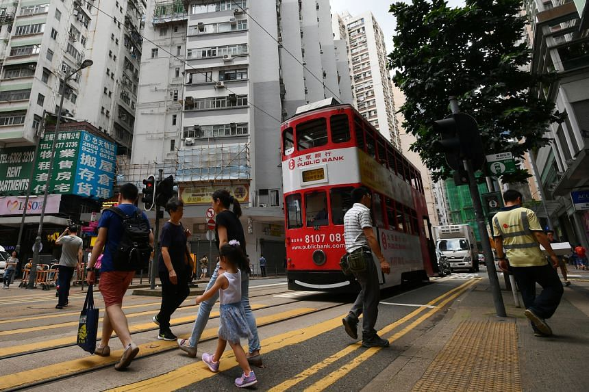 """Hong Kong said it """"strongly"""" objects to a US congressional report critical of Beijing's handling of the city."""