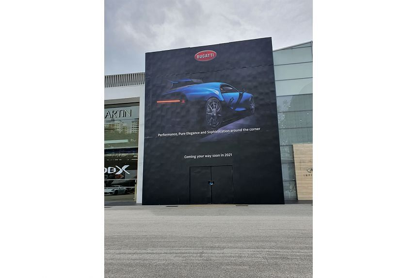 Bugatti showroom to be ready in May