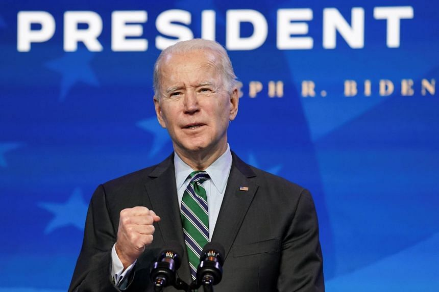 Biden is expected to issue a flurry of executive orders on his first day in office.