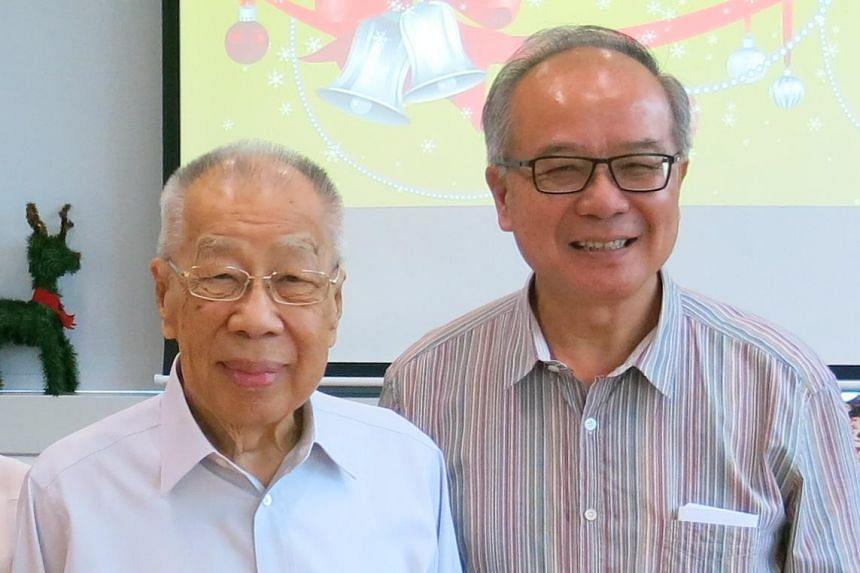 Chairman Mr Yong Nam Seng (left) and executive director Mr Eugene Yong Kon Yoon.