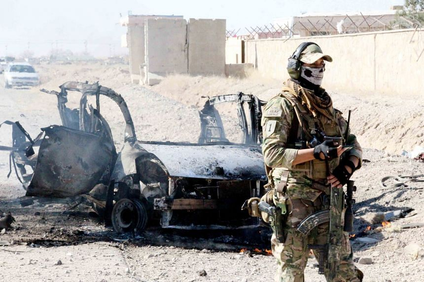 The latest attack comes just two days after the Pentagon announced it had cut troop levels in Afghanistan to 2,500.