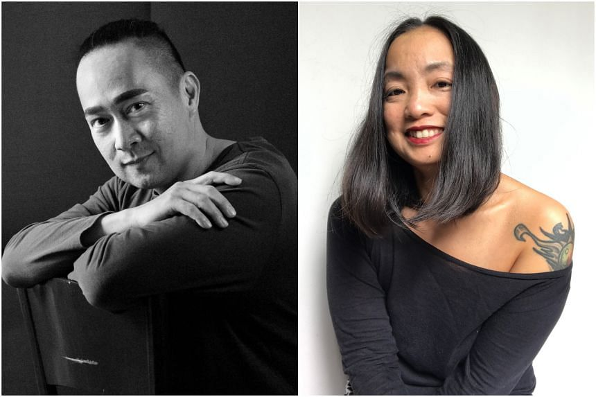 Sebastian Sim (left) and Boey Meihan will each receive $15,000 from the sixth edition of the prize.