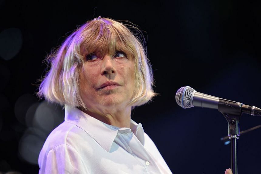British singer Marianne Faithfull was discharged from hospital in London on April 22, 2020.