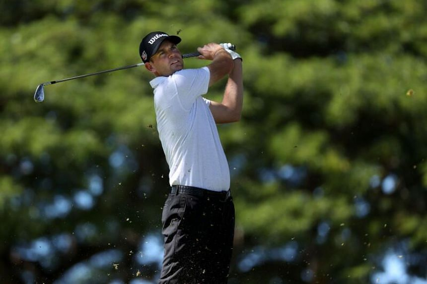 It is the second straight year Brendan Steele has held the 54-hole lead at Waialae Country Club in Honolulu.
