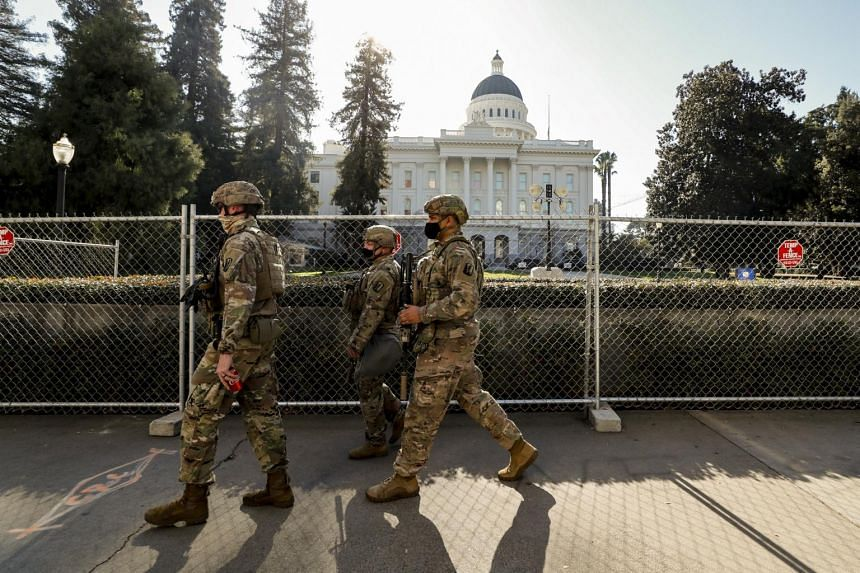U.S. state capitals see few protesters after bracing for violent demonstrations