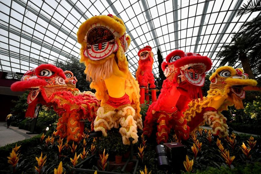 Dragon dances are cancelled and lion dancers cannot perform at many public spaces.
