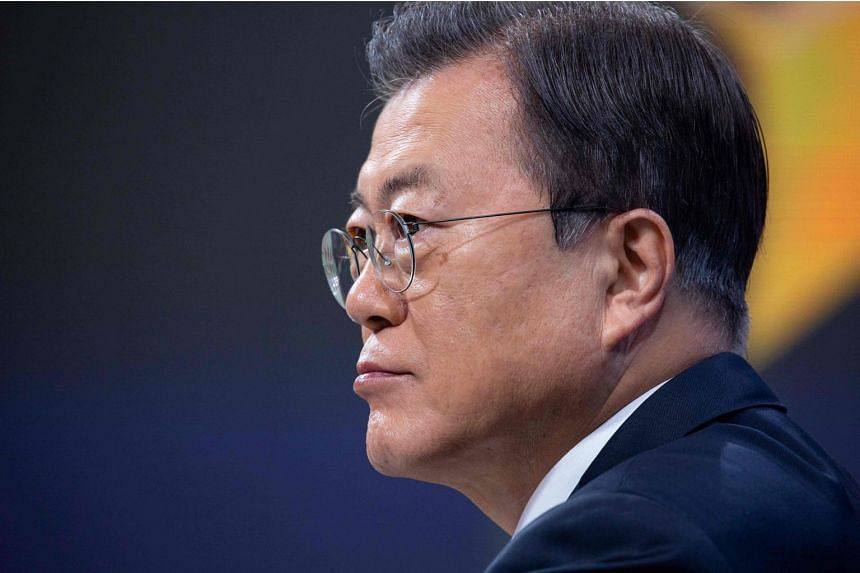 South Korean President Moon Jae-in said the inauguration of the Biden administration would provide a turning point to newly start US-North Korea dialogue, South-North dialogue.