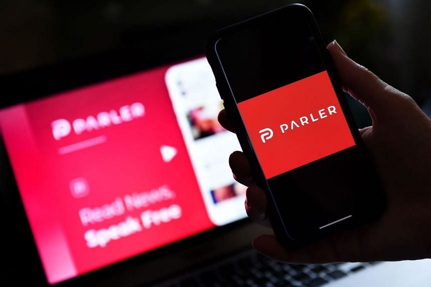 Apple suspended all downloads of the Parler app following the attack on the US Capitol on Jan 6.