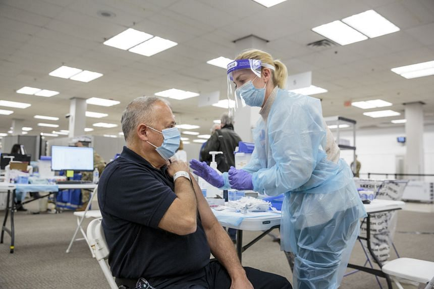 About 10.6 million Americans have so far been vaccinated.