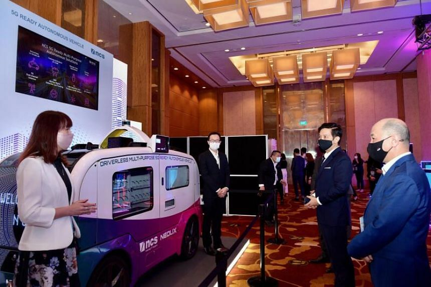 NCS launches the Next Shenzhen Innovation Centre with Minister of State for Trade and Industry Alvin Tan, as well as government dignitaries from China.