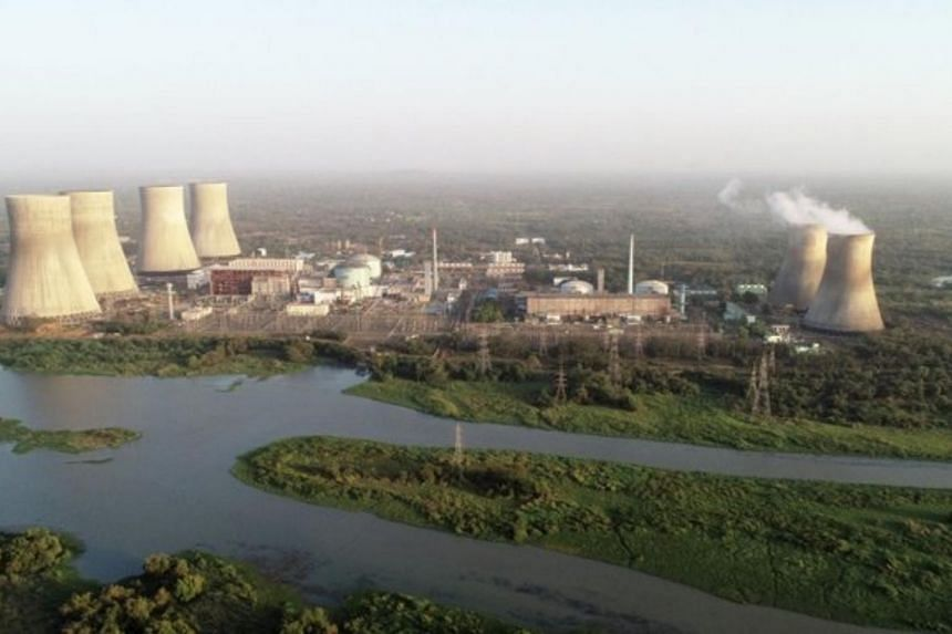The 700-megawatt pressurised heavy water reactor of the Kakrapar Atomic Power Station (above) is the first of 16 planned units.