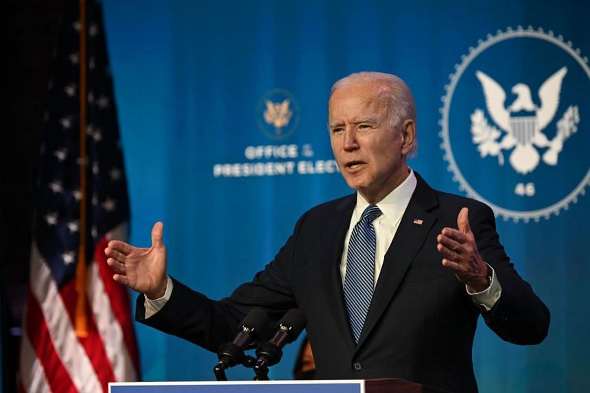 Mr Joe Biden will be inheriting twin crises when he takes over as President: controlling Covid-19 and providing more relief for Americans struggling in the battered economy.