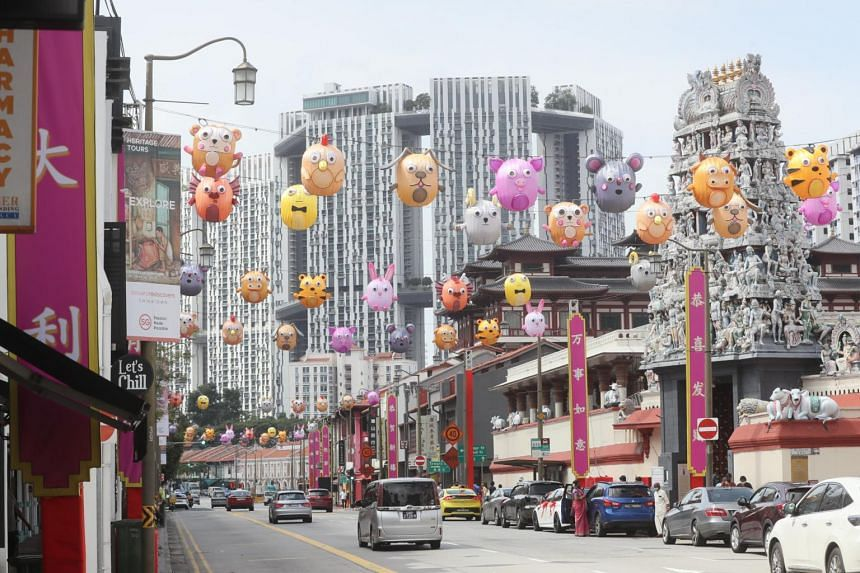 South Bridge Road will also be adorned with lanterns depicting the 12 zodiac animals.