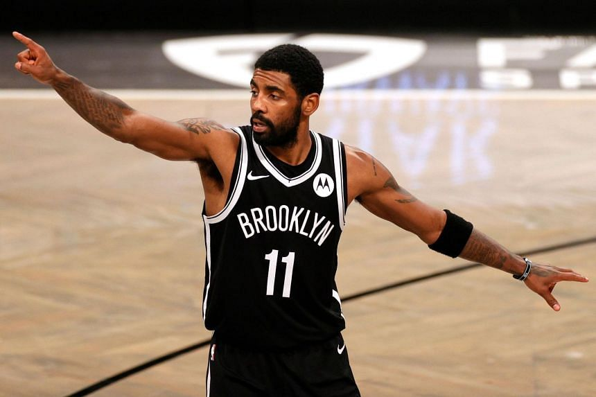 Kyrie Irving has been active off the court on social and racial justice issues.