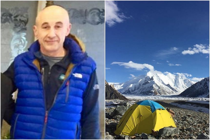 Mr Alex Goldfarb pushed on alone when his teammate failed to persuade him to give up their attempt to scale the Broad Peak.