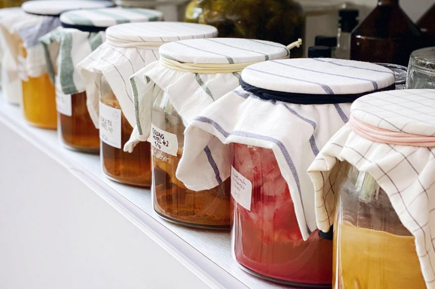 Kombucha is packed with 20 to 30 strains of beneficial bacteria and yeast, antioxidants and B vitamins.