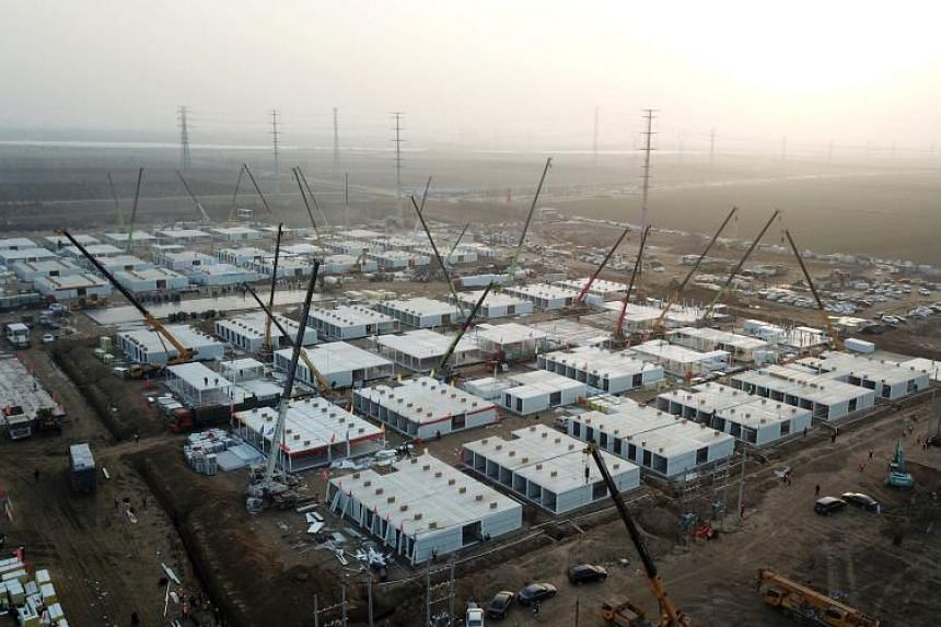The facility is expected to have enough rooms to hold more than 4,000 people once it is completed.
