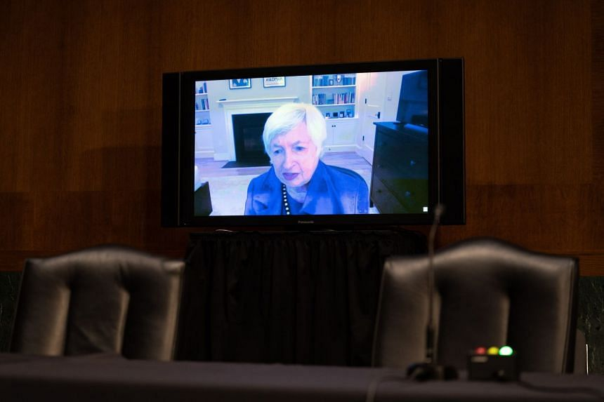 Janet Yellen faces Senate to sell $1.9 trillion stimulus package