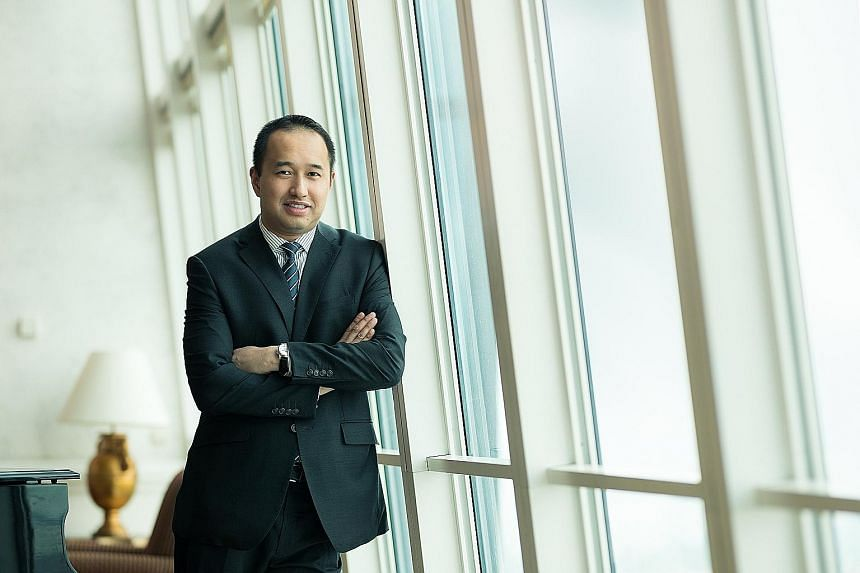 City Developments chief executive Sherman Kwek spearheaded the company's deal with China's Sincere Property Group in 2019.