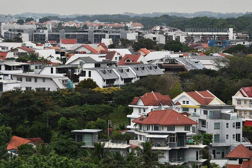 Urban Redevelopment Authority flash estimates showed that private home prices rose 2.1 per cent for the fourth quarter last year - the steepest quarterly increase since the second quarter of 2018 when they jumped 3.4 per cent before property cooling