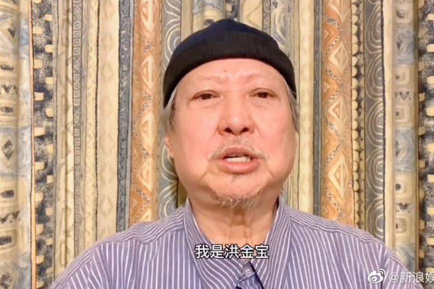 Sammo Hung appeared in a video providing encouragement to the people of Hebei.