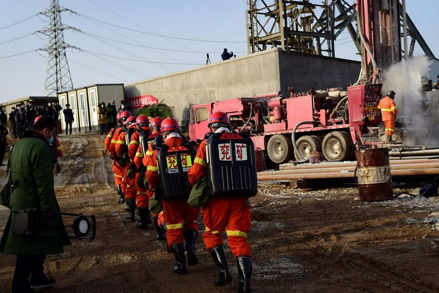 Mining accidents are common in China, where the industry has a poor safety record and regulations are often weakly enforced.